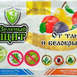 Зеленый щит от тли и белокрылки 3 г + Прилипатель 10 мл 3 мл (Копировать)