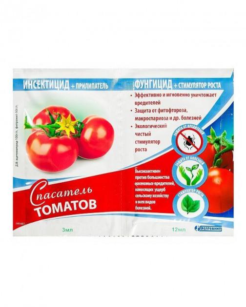 Спасатели томатов в пакетах, 3 мл + 12 мл