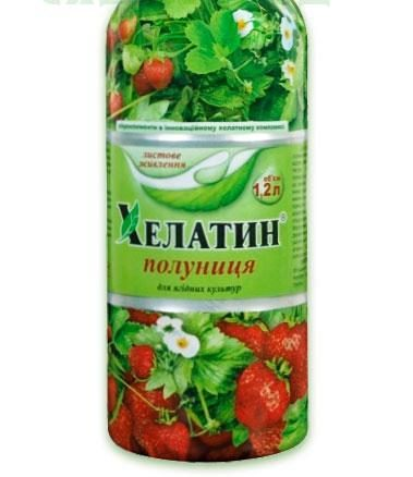 Хелатин Клубника, 1.2 л