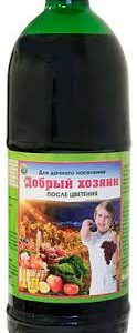 Удобрение Добрый Хозяин №2 с повышенным содержанием фосфора и калия, 1 л