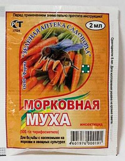 Морковная муха 2 мл