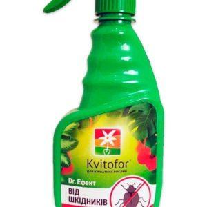 Чистый лист Доктор Эффект для защиты комнатных растений от вредителей, 300 мл