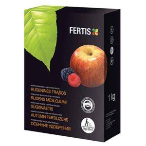 Комплексное минеральное гранулированное осеннее удобрение Fertis (Фертис) 1 кг NPK 5.15.25