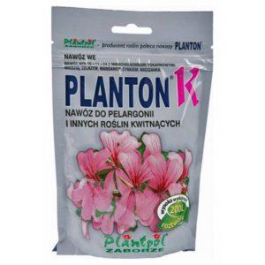 Водорастворимое комплексное минеральное удобрение для пеларгоний и цветущих растений Planton K (Плантон К) 200 г NPK 16.11.24