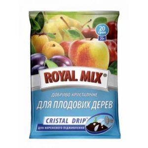 Минеральное удобрение для плодовых деревьев ROYAL MIX Cristal Drip 20 г