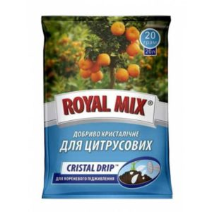 Минеральное удобрение для цитрусовых растений ROYAL MIX Cristal Drip 20 г