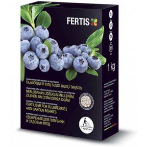 Комплексное минеральное гранулированное удобрение для голубики Fertis (Фертис) 1 кг NPK 12.8.16+МЕ