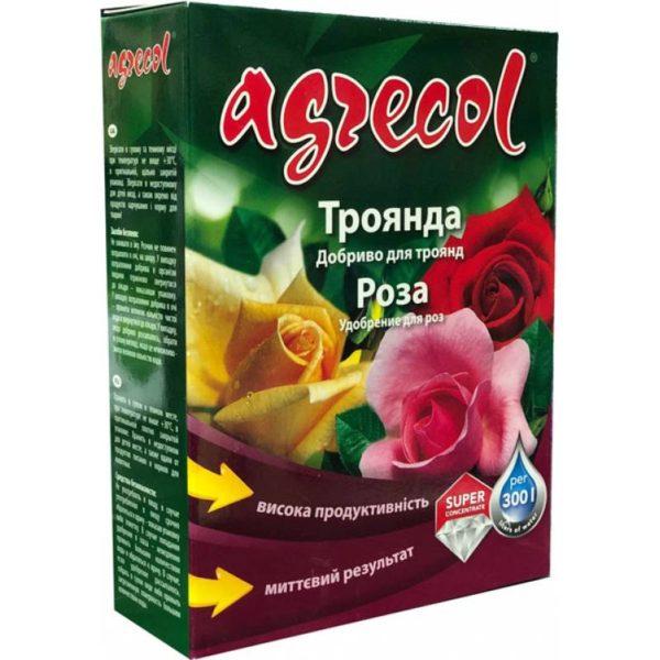 Водорастворимое комплексное минеральное удобрение для роз 200 г Agrecol