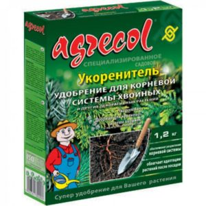 Удобрение для корневой системы хвойных и других декоративных растений Agrecol 1.2 кг