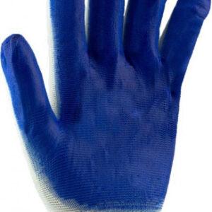 Перчатки стрейчевые синие , упаковка 12 пар
