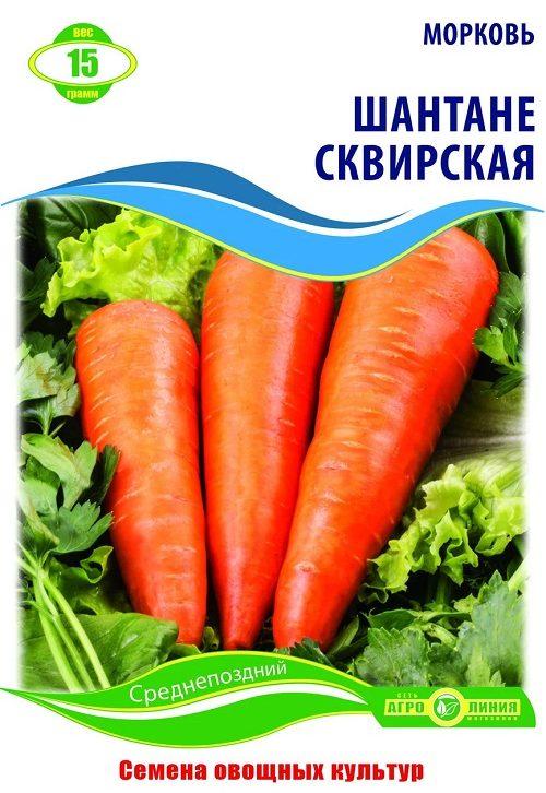 Семена моркови Шантане Сквирская, 15 г.