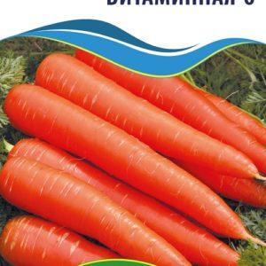 Семена моркови Витаминная 6, 15 г.