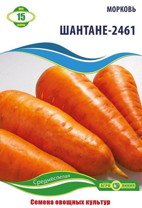 Семена моркови Шантане 2461, 15 г.