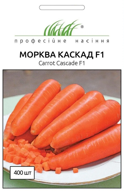 Семена моркови Каскад F1, 400 семян Bejo Zaden (Голландия)
