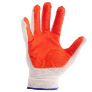 Перчатки стрейчевые оранжевые, упаковка 12 пар