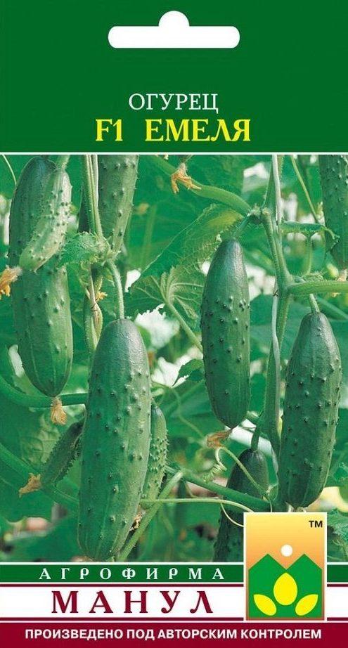 Семена огурца Емеля F1, 10 семян