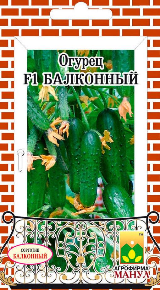 Семена огурца Балконный F1, 10 семян