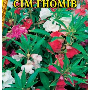 Семена цветов Бальзамин Смесь Семь Гномов