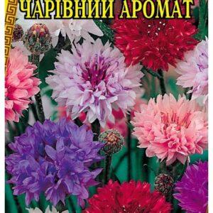 Семена цветов Василек Махровый Волшебный Аромат